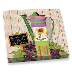 Epic Products Watering Pail Beverage Napkins ( 20パック)、マルチカラー