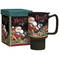 Lang Believe Santa Travel Mug by Susan Winget ( 2127025 )