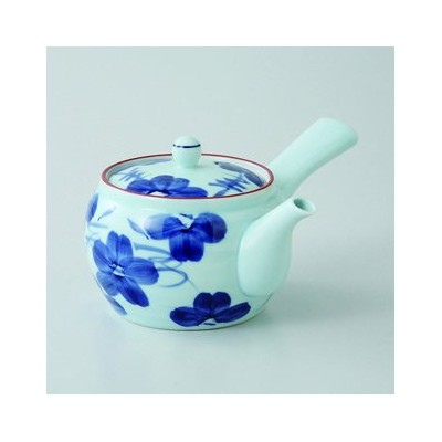 波佐見焼 染花紋 M中急須 2個セット 急須 Japanese porcelain Hasami ware. Set of 2 somekamon M nakakyusu teapots.