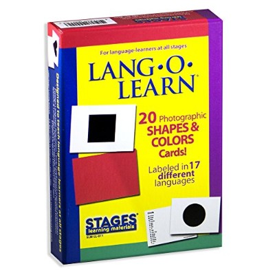 Lang-O-Learn Cards - Shapes and Colors by Stages Publishing [並行輸入品]