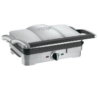 クイジナート グリル&パニーニメーカー Cuisinart GR-3 Griddler Jr, Brushed Stainless Steel