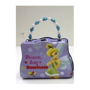 Small Classic Purse - Disney - Tinkerbell - Metal Tin Box New 163107-6-1