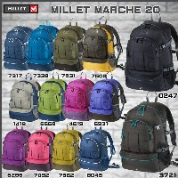 MILLET(ミレー) MARCHE 20 マルシェ20 ミレーバックパック【DAY-P】