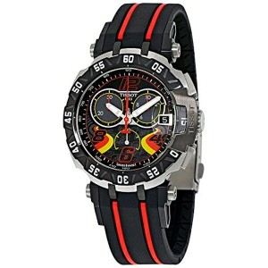 ティソ Tissot 腕時計 メンズ 時計 Tissot T-Race Stefan Bradl Chronograph Mens Watch T0924172705702