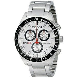 ティソ Tissot 腕時計 メンズ 時計 Tissot Men's T0444172103100 PRS 516 Chronograph Watch