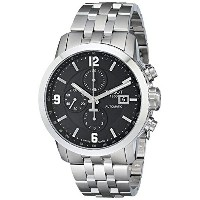 ティソ Tissot 腕時計 メンズ 時計 Tissot Men's T0554271105700 PRC 200 Stainless Steel Automatic Watch