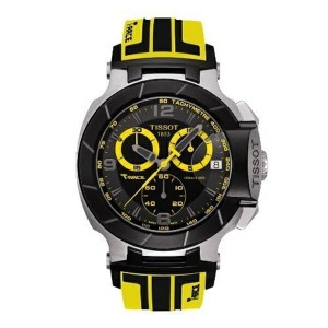 ティソ Tissot 腕時計 メンズ 時計 Tissot T-Race Black Dial SS Rubber Chronograph Quartz Men's Watch T04841727057...