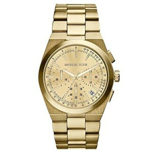 マイケルコース Michael Kors レディース 腕時計 時計 Michael Kors Channing Champagne Dial Gold-tone Ladies Watch MK5926