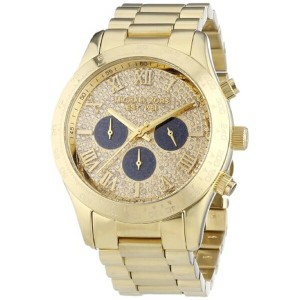 マイケルコース Michael Kors レディース 腕時計 時計 Michael Kors MK5830 Ladies Gold Layton Chronograph Watch