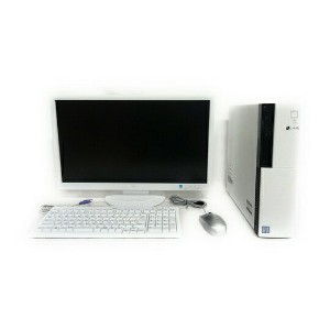 美品 【中古】 NEC LAVIE GD348Z/9 PC-GD348ZZG9 デスクトップ パソコン PC i7 6700 3.4GHz 32GB HDD3TB Win10 Pro 64bit Quadro K420 23型 モニターセット T2650709