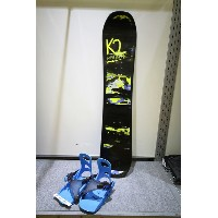 K2 SNOWBOARDING [ BOYS GROM PACKAGE PACKAGE Bタイプ @56160] キッズ スノーボード 3点セット(ブーツ21~25cm)安心の正規輸入品