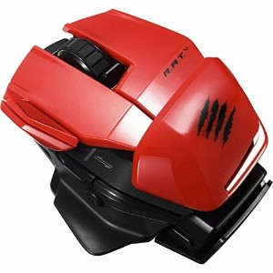 Mad Catz Bluetooth光学式 オフィス ラットM ワイヤレス モバイルマウス(レッド)Office R.A.T.M. Wireless Mobile Mouse MC-ORM-RD-PC