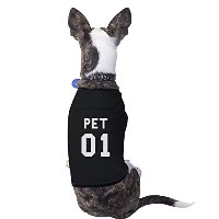 Pet 01 Black Pet Shirt for Small Pet ONLY Pet Owner Matching Shirts