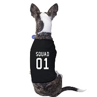 Squad Pet Shirt Black Funny Matching Family Unique Dog Mom Gifts