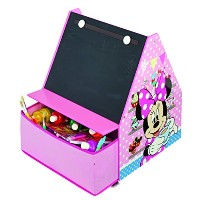 Disney Minnie Mouse 4 in 1 Craft Storage & Easel, HelloHome by Disney Junior