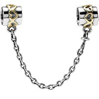 PANDORA Charms パンドラ チャーム - チェーンの心 - Heart of the chain