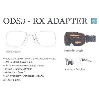 SMITH SNOW GOGGLE [ ODS3-RX ADAPTER @8640 ] スミス ゴーグル 【 スキー スノーボード 用】【正規代理店商品】
