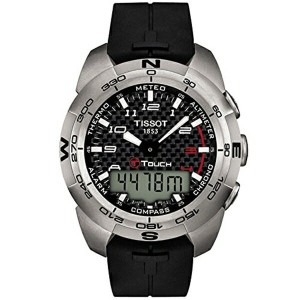 ティソ Tissot 腕時計 メンズ 時計 Tissot Men's T0134204720200 T-Touch Expert Watch