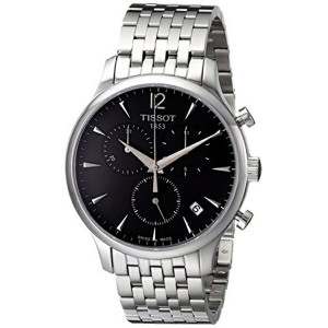 ティソ Tissot 腕時計 メンズ 時計 Tissot Men's T063.617.11.067.00 Charcoal Stainless Steel Bracelet Watch with...