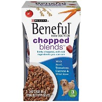 Beneful Chopped Blends with Beef, Tomatoes, Carrots and Wild Rice; 9 Ounce by Beneful Wet