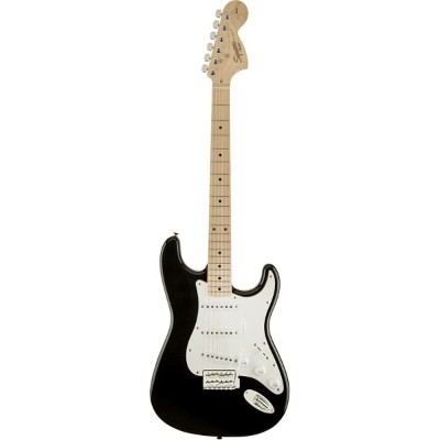 Squier by Fender 《スクワイヤーbyフェンダー》 Affinity Series Stratocaster (Black/Maple Fingerboard)【g_p5】