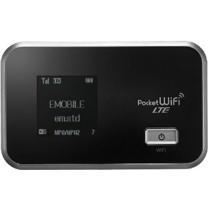 【白ロム】EMOBILE Pocket WiFi LTE GL06P シルバー【Huawei】