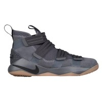 (取寄)Nike ナイキ メンズ レブロン ソルジャー 11 SFG Nike Men's LeBron Soldier 11 SFG Dark Grey Black Circuit Orange...