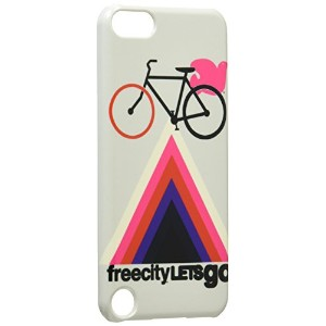 Uncommon iPod touch (5G) 用ハードケース FREE CITY Let's Go Bike C0100-KY