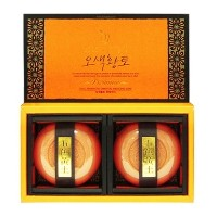 [OSEQUE] HWANGTO fermented herbal soap / 2pcs/ soothing/ skin/ soap/ oseque