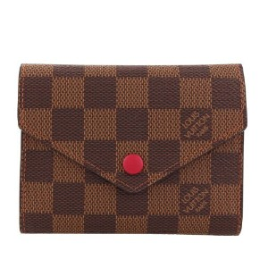 LOUIS VUITTON ルイヴィトン 財布 N41659 ダミエ ポルトフォイユ・ヴィクトリーヌ