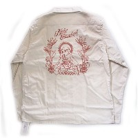 【RADIALL】ラディアル【RICO SHIRTS L/S open Shirts】White Lsize【長袖シャツ】送料無料