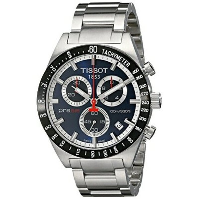 ティソ Tissot 腕時計 メンズ 時計 TISSOT watch PRS516 Blue T0444172104100 Men's