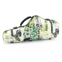 JAKOB WINTER アルトサックスケース 51092 WAVEシリーズ Greenline coloured shaped case for Alto Saxophone (GREEN)