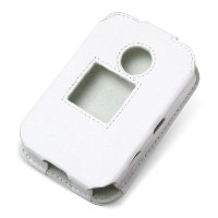 PDAIR レザーケース for Pocket WiFi LTE(GL04P) スリーブタイプ(ホワイト) PALCGL04PS/WH
