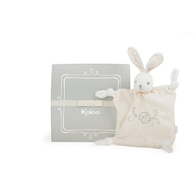(Cream) - Kaloo Perle Doudou Knots Rabbit (Cream)