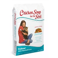 Chicken Soup for The Soul Indoor with Hairball Care Pet Dry Cat Food 15lbs