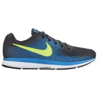 (取寄)Nike ナイキ メンズ エア ズーム ペガサス 34 Nike Men's Air Zoom Pegasus 34 Anthracite Volt Blue Orbit Black