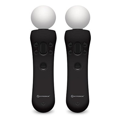 Hyperkin PS MOVE GelShell Wand Silicon(Black) [PSVR用コントローラ・カバー ブラック] VR0034 M07227-BK