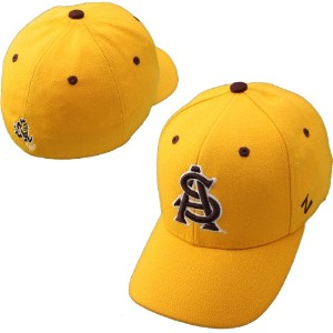 NCAA Zephyr Arizona State Sun Devils DH Fitted Hat–ゴールド 67/8 イエロー