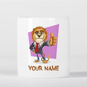 Customized Lion Suit Animal Children Kids Personalised 貯金箱