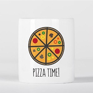 Pizza Time Funny Food Lover Pepperoni Italia Italy 貯金箱