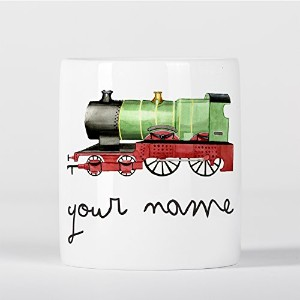 Customized Classic Vintage Locomotive Train Children Kids Personalised 貯金箱