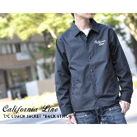 "【CALIFORNIA LINE/カリフォルニアライン】コーチジャケット/ T/C COACH JACKET ""BACK STITCH""★REAL DEAL"