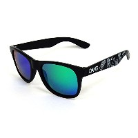 ダン シェイディーズ ( DANGSHADES ) LOCO Black Matte x Green Mirror Polarized with BEER [ 中村貴之 Designed Model...