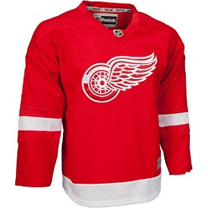 Detroit Red Wings NHLリーボックメンズレッド2016 – 17プレミアJersey