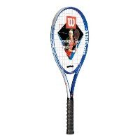 Wilson Federer署名テニスラケット( Colors May Vary )