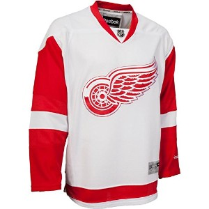 NHL Detroit Red WingsホワイトPremier Jersey Youth ホワイト