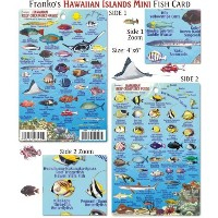 Franko Maps Mini Hawaiian Reef Creatures Fish ID for Scuba Divers and Snorkelers by 699
