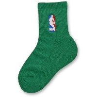NBA Logoman Youth Socks 2Pack 2足セット 緑 YOUTH