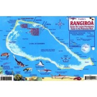 French Polynesia Reef Creatures Guide by Franko Maps